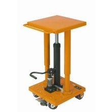 Wesco VLT500 Series Value Lift Table - 4 inch Caster Size 18 x 18 inch Table Size