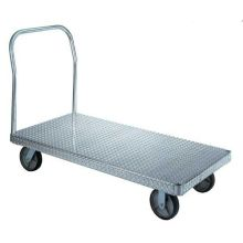 SR-6 Series Polyolefin Wheel Type Caster Only For Aluminum Platform Truck - 6 x 2 inch Wheel Size