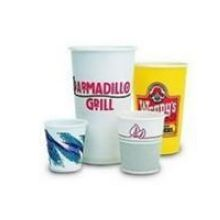 White Single Poly Paper Hot Cup