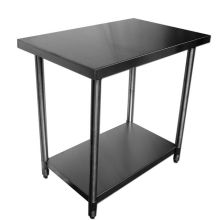 SSP Inc 430 Stainless Steel SE Series Economy NSF Work Table 30 x 36 x 34 inch