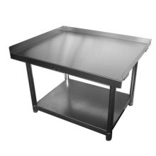 SSP Inc Stainless Steel SE Series NSF Equipment Stand with Galvanized Undershelf 30 x 36 x 24 inch