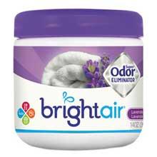 BRIGHT Air Super Odor Eliminator Lavender and Fresh Linen Purple 14oz