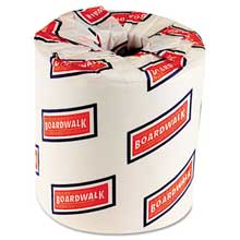 Boardwalk One-Ply Toilet Tissue 1000 Sheets White 96 Rolls/Carton