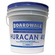 Boardwalk Low Suds Laundry Detergent Economical Powder Fresh Lemon Scent 40lb Pail