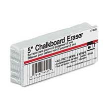 Charles Leonard 5-Inch Chalkboard Eraser Wool Felt 5w x 2d x 1h