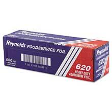 Reynolds Wrap Heavy Duty Aluminum Foil Roll 12 inch x 500 ft Silver