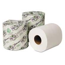 Wausau Paper EcoSoft Universal Bathroom Tissue 1-Ply 1000 Sheets/Roll 48 Rolls/Carton