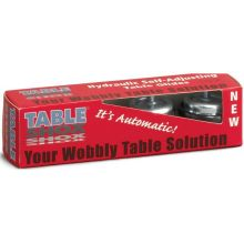 Tablecraft Set of 4 each Table Shox Table Glide 1/4 inch