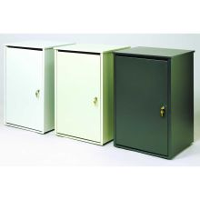 Witt Industries Steel Platinum Security Receptacle 18 x 20 x 31 inch