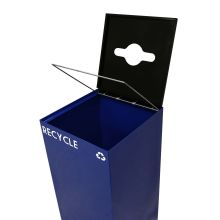 Square Steel Retainer Band for Geocube Recycling Containers