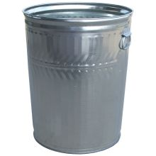 Witt Industries Commercial Duty Galvanized Steel Trash Can 19.5 x 23.5 inch