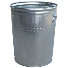 Witt Industries Heavy Duty Galvanized Steel Trash Can 21.25 x 26.25 inch