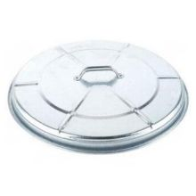 Witt Industries Heavy Duty Galvanized Steel Trash Lid Only 21.5 x 4 inch