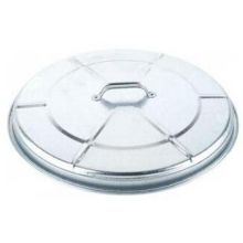 Witt Industries Medium Duty Galvanized Steel Trash Lid Only 20 x 5 inch