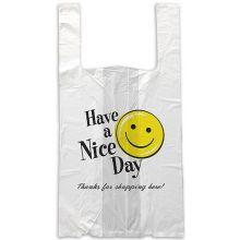 Happy Face 10 Micron Medium Bag