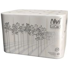2 Ply White Bath Tissue Roll