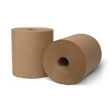 Wausau Paper EcoSoft Natural Controlled Roll Towel 8 x 10.75 inch