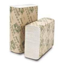 Wausau Paper EcoSoft Multifold Towel 9 1/8 x 9 1/2 inch
