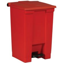 Step-On Container - Red 12 U.S. Gal For Hands-Free Sanitary Waste Management