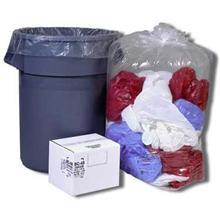 Trash Bags Regular 24 X 23 / 7-10 Gallon / 0.06 Mil / Clear