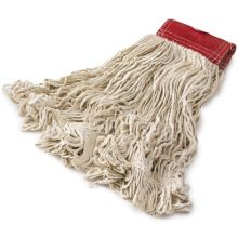 Super Stitch Cotton Looped End Wet Mop - 5in. Headband - Large