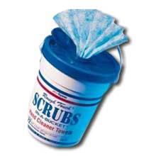 Scrubs In A Bucket Towel