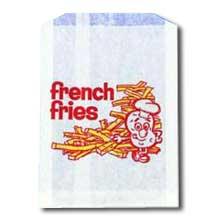 Printed French Fry Bag