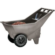 3.25 Cubic Feet Roughneck Utility Lawn Cart - Designed To Move Loads Quickly And Easily