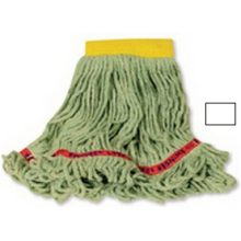 Swinger Loop Wet Small Mop 1 Inch Hand Band - Looped-End Tail Banded Mop For Greater Floor Coverage