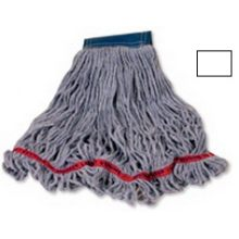 Swinger Loop Wet X-Large Mop 1 in Hand Band - Looped-End Tail Banded Mop For Greater Floor Coverage