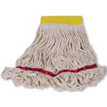 Swinger Loop Wet Small Mop 5 Inch Hand Band - Looped-End Tail Banded Mop For Greater Floor Coverage
