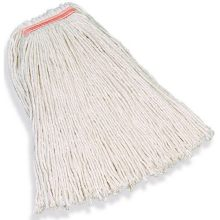 20 Ounce Premium Cut-End Cotton Mop 1 Inch Headband - 4 Ply Cotton General Purpose Mopping