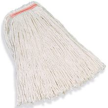 32 Ounce Premium Cut-End Cotton Mop 1 Inch Headband - 4 Ply Cotton General Purpose Mopping