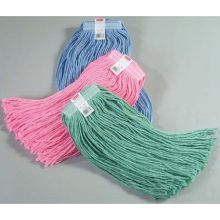 Pink - Mop Synthetic Blend Mop - Headband Size 1 Inch Mop Size Large