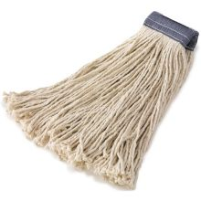 24 Ounce Premium Cut-End Cotton Mop 5 Inch Headband - 4 Ply Cotton General Purpose Mopping
