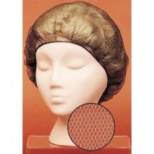 Royal Paper Products LightWeight Dark Brown Koronet Latex Free Hairnet