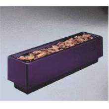 The Barclay Series Fiberglass N Model Rectangular Planter 12 inch Height 18 inch Width 72 inch Length with Return Rim