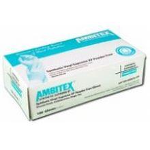 White Medium Synthetic Stretch Powder Free Gloves pack