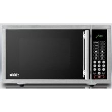 Stainless Steel Built In Microwave Oven - Front Exhaust