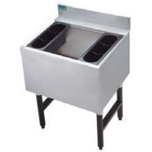 Advance Tabco Challenger Series NSF Ice Bin with 7 Circuit Cold Plate 16 inch Deep 35 inch Unit