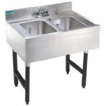 Advance Tabco Challenger Series NSF Bar Sink 2 Compartment 4 feet
