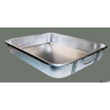 Winco Aluminum Heavy Duty Double Roaster Pan with Strap 18 x 24 x 4 1/2 inch