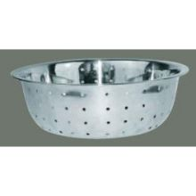 Winco Stainless Steel 5 MM Hole Chinese Colander 15 inch