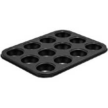 Carbon Steel Non Stick 12 Cup Mini Muffin Pan
