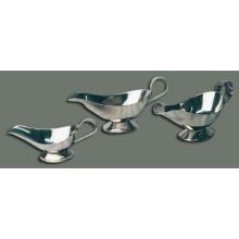 Winco Stainless Steel Gravy Boat 10 Ounce