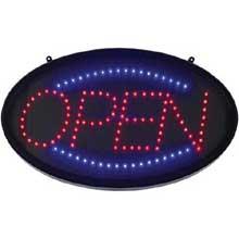 Winco LED Neon Open