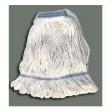 Winco 600g White Yarn Looped End Mop Head 24 Ounce