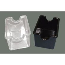White Winco Plastic Sugar Packet Holder, 8 inch