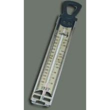 Winco Calibrated Candy and Deep Fry Thermometer 11 3/4 x 2 inch