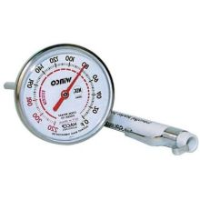 Winco Calibrated Dial Pocket Test Thermometer - 40 to 180 Degree Fahrenheit 1 inch